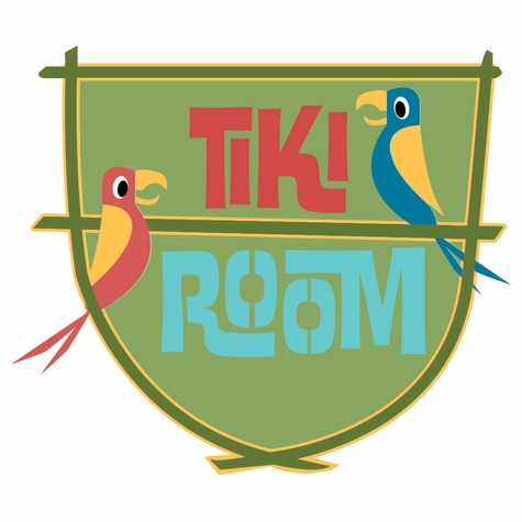 Adventure Land: Tiki Room Laser Die Cut