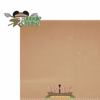 Adventureland: Jungle 2 Piece Laser Die Cut Kit