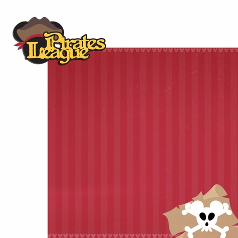 Adventureland: Pirate League 2 Piece Laser Die Cut Kit