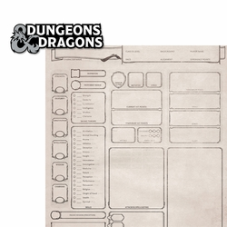 Adventuring: Dungeons 2 Piece Laser Die Cut Kit