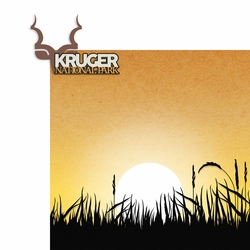 Africa: Kruger National Park 2 Piece Laser Die Cut Kit
