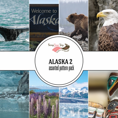 Alaska 2 Assorted 12 x 12 Paper Pack