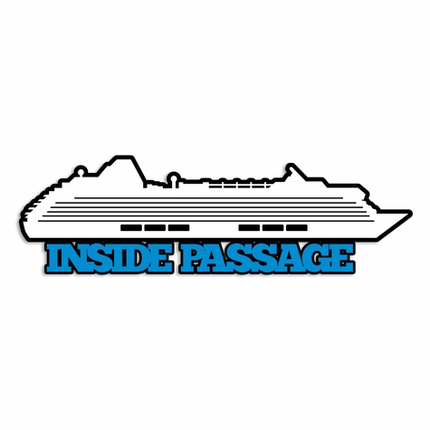 Alaska: Inside Passage Laser Die Cut