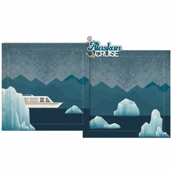 Alaskan Cruise Double Page Layout Kit