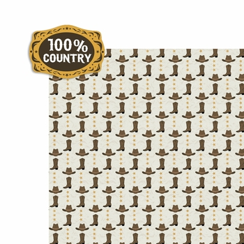 All Country: 100% Country 2 Piece Laser Die Cut Kit