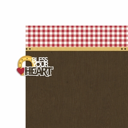 All Country: Bless your Heart 2 Piece Laser Die Cut Kit