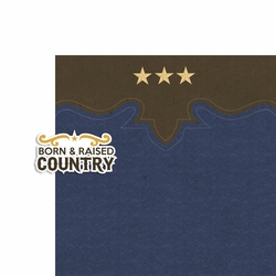 All Country: Born and Raised 2 Piece Laser Die Cut Kit