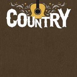 All Country: Country Music Festival 12 x 12 Paper