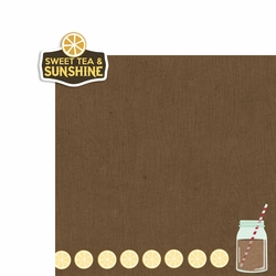 All Country: Sweet Tea and Sunshine 2 Piece Laser Die Cut Kit