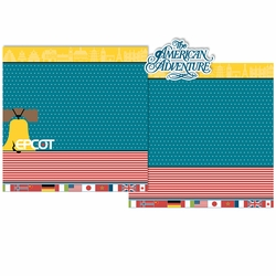 American Adventure 3 Piece Laser Die Cut Kit
