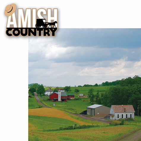 Amish Country 2 Piece Laser Die Cut Kit
