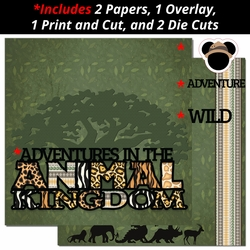 Animal Kingdom 2 Page Print and Cut