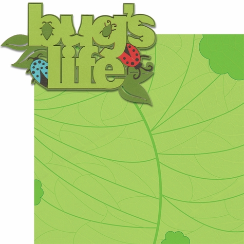 Animal Kingdom: Bug's Life Laser Die Cut Kit