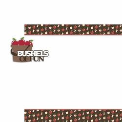 Apple: Bushels of Fun 2 Piece Laser Die Cut Kit