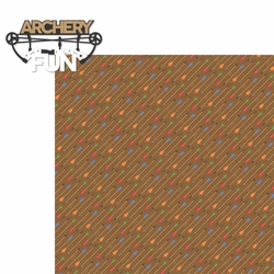 Archery: Archery Fun 2 Piece Laser Die Cut Kit