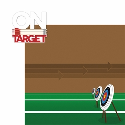 Archery: On Target 2 Piece Laser Die Cut Kit
