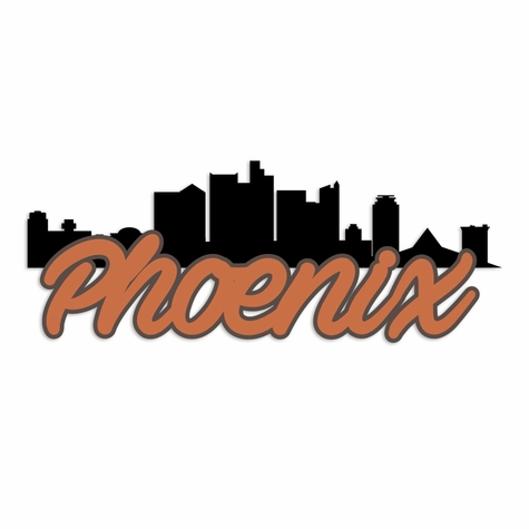 Arizona: Phoenix Laser Die Cut