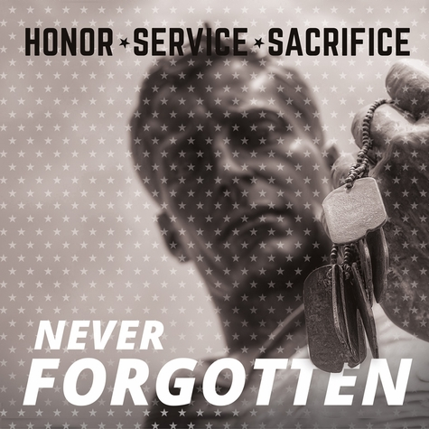 Armed Forces: Never Forgotten 12 x 12 Paper