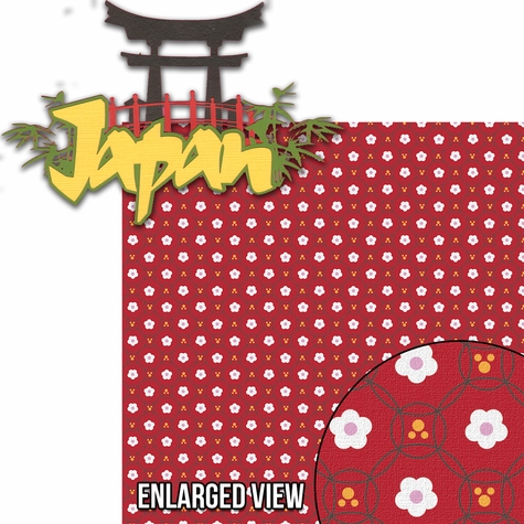 Around The World: Japan 2 Piece Laser Die Cut Kit