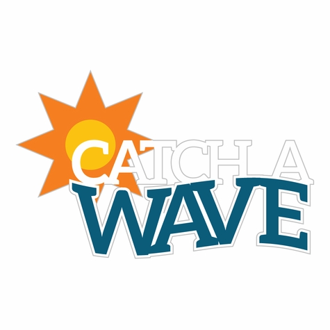 At The Seashore: Catch A Wave Laser Die Cut