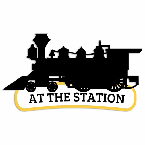 At The Station Laser Die Cut