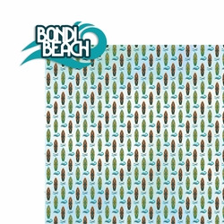 Australia: Bondi Beach 2 Piece Laser Die Cut Kit
