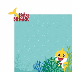 Baby Shark: Baby 2 Piece Laser Die Cut Kit