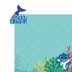 Baby Shark: Daddy Shark 2 Piece Laser Die Cut Kit