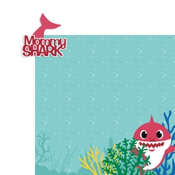 Baby Shark: Mommy Shark 2 Piece Laser Die Cut Kit