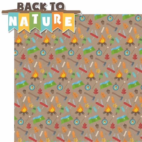 2SYT Back To Nature: Back to Nature 2 Piece Laser Die Cut Kit