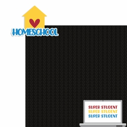 Back to School: Homeschool 2 Piece Laser Die Cut Kit