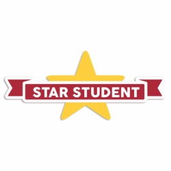 Back to School: Star Student Laser Die Cut