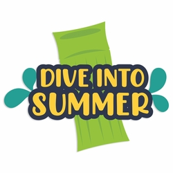 Backyard Fun: Dive into Summer Laser Die Cut