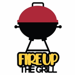 Backyard Fun: Fire Up the Grill Laser Die Cut