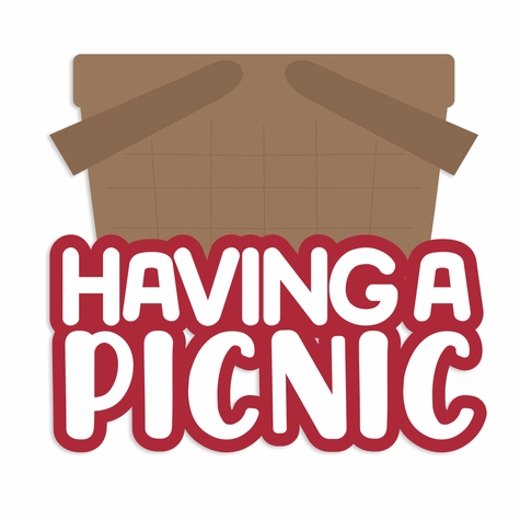 Backyard Fun: Having a Picnic Laser Die Cut