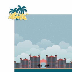 Bahamas: Atlantis 2 Piece Laser Die Cut Kit