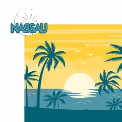 Bahamas: Nassau 2 Piece Laser Die Cut Kit