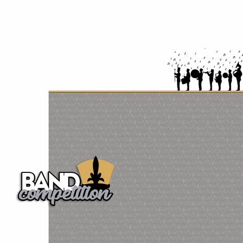 Band Competition 2 Piece Laser Die Cut Kit