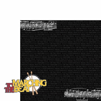Band: Marching to the beat 2 Piece Laser Die Cut Kit