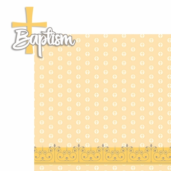Baptism 2 Piece Laser Die Cut Kit