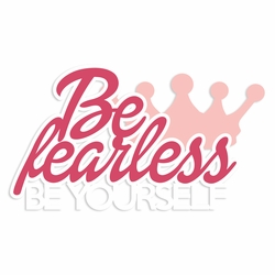 Barbie: Be fearless Laser Die Cut