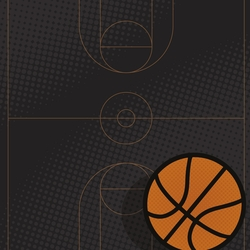 Basketball: 3 Pointer 12 x 12 Paper