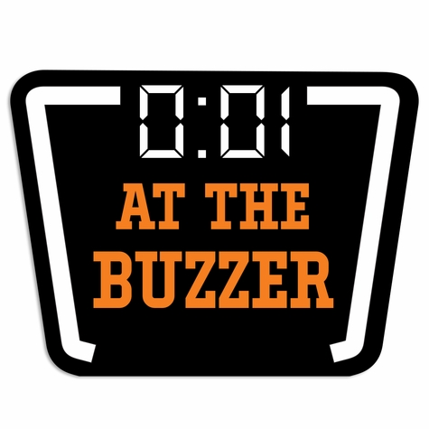 Basketball: At the Buzzer Laser Die Cut