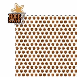 Basketball: Hoop Star 2 Piece Laser Die Cut Kit