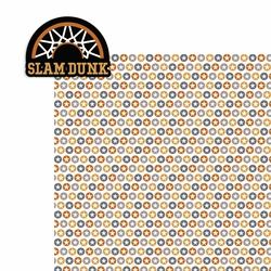 Basketball: Slam Dunk 2 Piece Laser Die Cut Kit