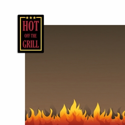 BBQ: Hot of the Grill 2 Piece Laser Die Cut Kit