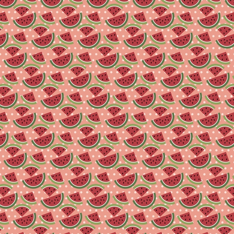 BBQ: Sweet Watermelon 12 x 12 Paper
