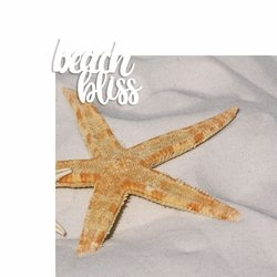 Beach Bliss 2 Piece Laser Die Cut Kit