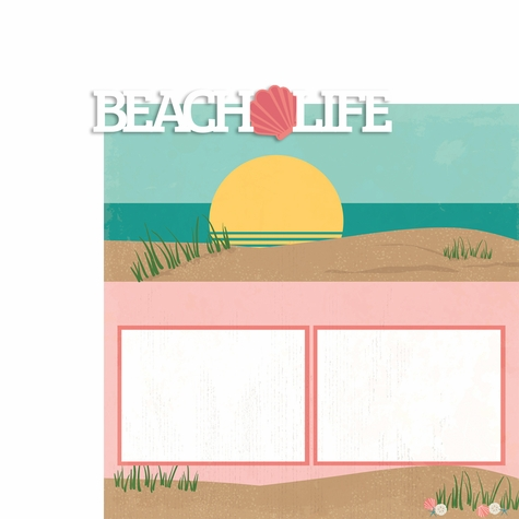 Beach Bums Page Layout
