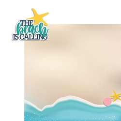 Beach Calling 2 Piece Laser Die Cut Kit